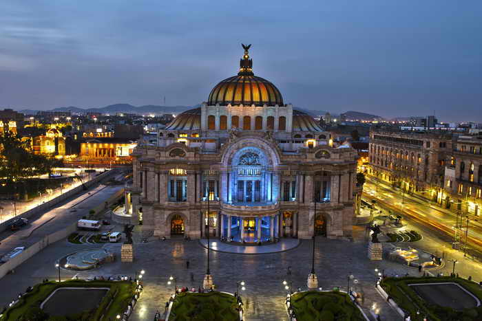 Мексика, Мехико, землетрясение