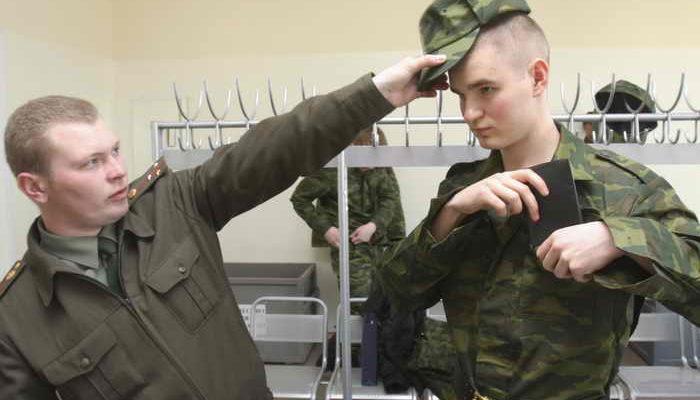 Началась очередная призывная кампания в Вооружённые силы Российской Федерации