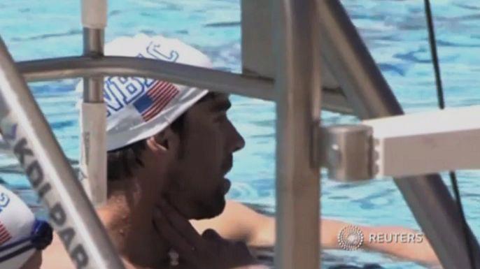 Олимпийский чемпион по плаванию Майкл Фелпс арестован за вождение в нетрезвом состоянии