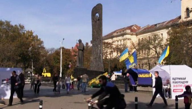 Парламентские выборы на Украине состоятся в ближайшее воскресенье