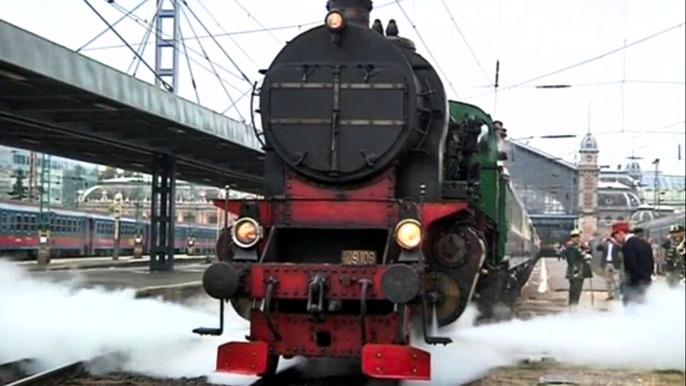 """В Венгрии появился новый """"Восточный экспресс"""", соединяющий Европу и Азию. Скриншот видео."""