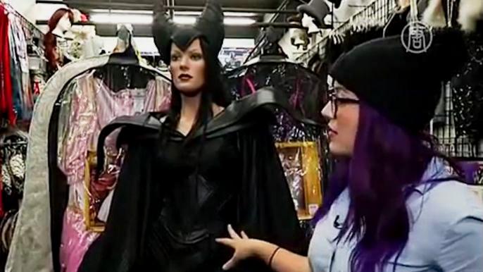 В Америке Хэллоуин всё больше превращается из детского праздника во взрослый (видео)