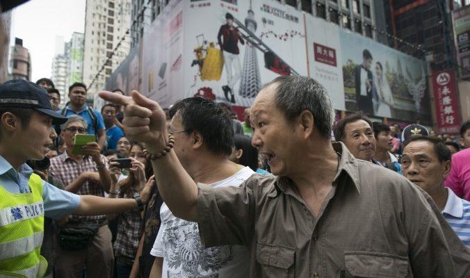 Полиция Гонконга связана с противниками демократического движения