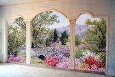 Художественная роспись стены. Фото с сайта tomsk.doski.ru