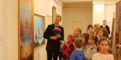 Искусство, говорящее языком сердца: репортаж с выставки картин «Истина, Доброта, Терпение»