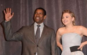 """The Equalizer"" Premiere - Arrivals - 2014 Toronto International Film Festival"