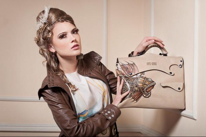 Эксклюзивные сумки с рисунками ручной работы от Ante Kovac. Фото: antekovac.ru