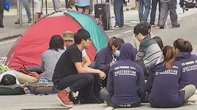 В Гонконге установилось относительное затишье