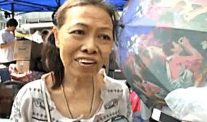 «Зонтичная рисовая лапша» бабушки Хуан поддержала протестующих Гонконга