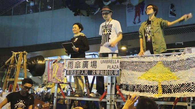 «Революция зонтиков» в Гонконге: песня «Под Скалой Льва»