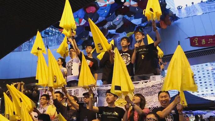 «Революция зонтиков»: в Гонконге отметили месяц со дня начала революции