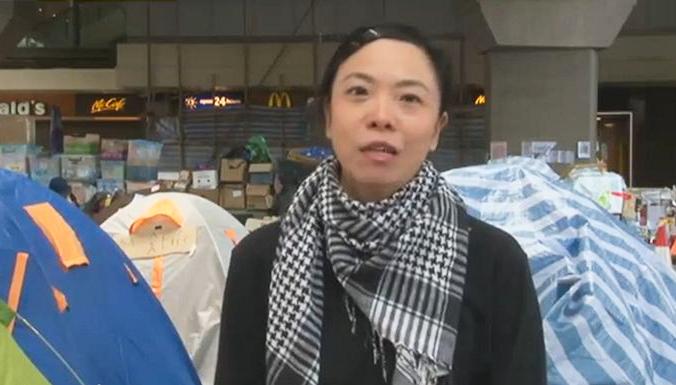 «Революция зонтиков» в Гонконге: живая трансляция, 30 октября, день 33