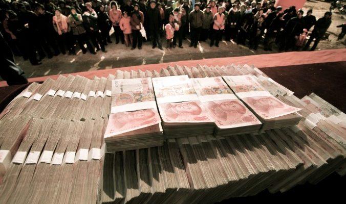 Взятка подарками в Китае менее наказуема