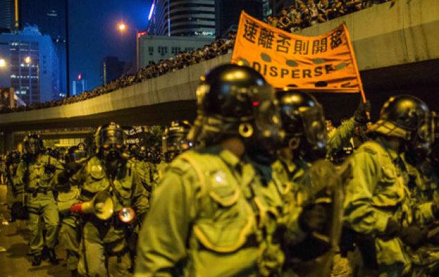 Инсайдер: глава Гонконга хотел стрелять в протестующих