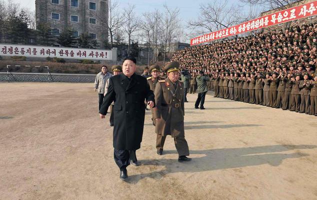 Китайские аналитики назвали недавние фото с Ким Чен Ыном «успокаивающими маневрами». Фото: AFP/Getty Images