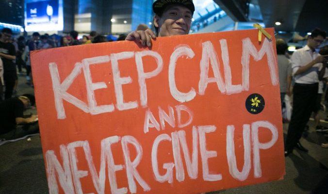 Студенты в Гонконге пошли на переговоры с правительством