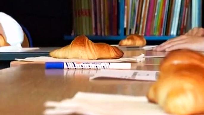 Американцы учатся у французов культуре детского питания.  Скриншот видео.