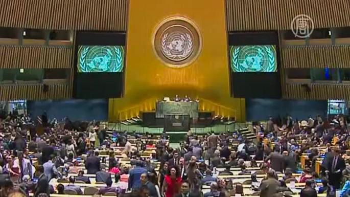 В Совете безопасности ООН появится пять новых членов