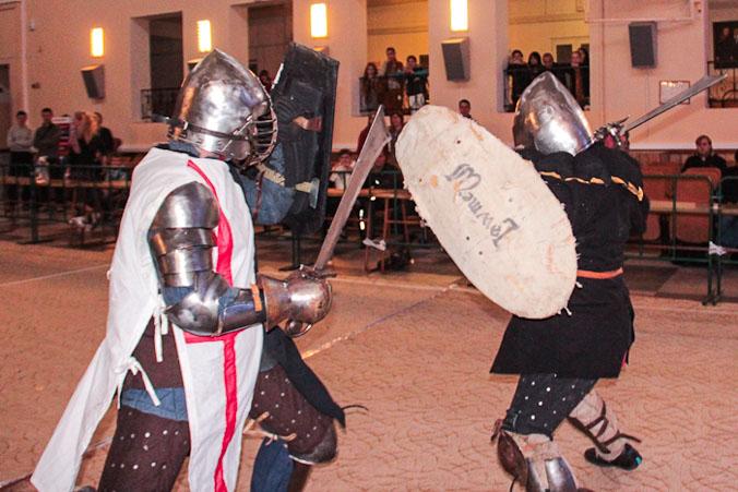 Турнир по историческому фехтованию в Краснодаре. Фото: Александр Трушников/Великая Эпоха