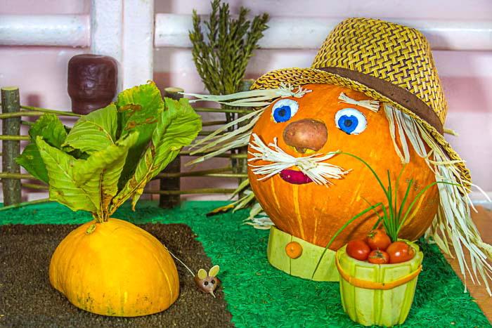Картинки выставка поделок из овощей и фруктов 289