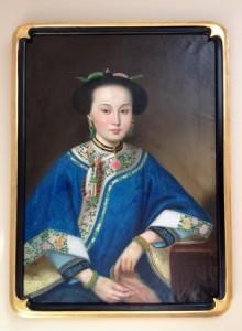 Сян Фэй или Душистая наложница, портрет написан Джузеппе Кастильоне или его учеником. Частная коллекция Доры Вон. Фото:Christine Lin/Epoch Times