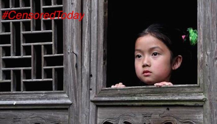 Цензура в Китае запретила фото девочки