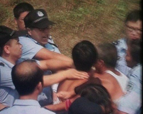 Кровавая стычка крестьян с полицией произошла на юго-востоке Китая
