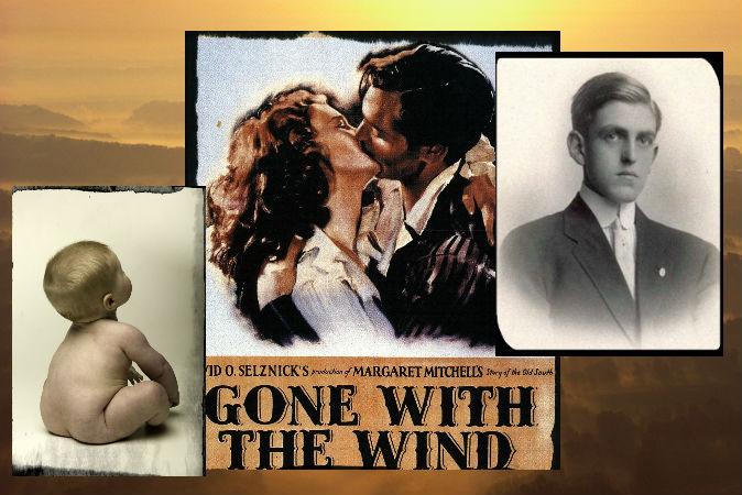 Справа:  драматург и сценарист Сидни Коу Ховард (1891–1939), написавший сценарий к фильму «Унесённые ветром». Фото: Wikimedia Commons В центре: афиша к фильму «Унесённые ветром». Фото: Wikimedia Commons /Photodisc/Photodisc/Thinkstock