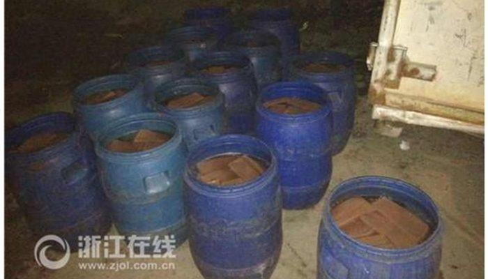 Кровяная колбаса в Китае может содержать формалин и клей