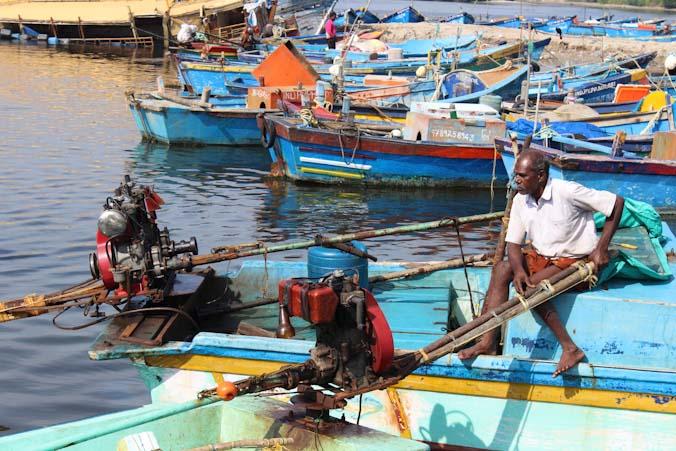 Рыбацкий порт в Индии. Фото: Татьяна Виноградова/Великая Эпоха