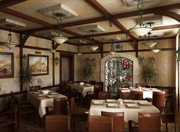 Фото с сайта http://kychnia.com/komfort/dizajn-interera-restorana.html