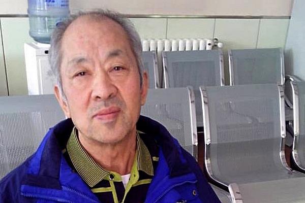 Последователь Фалуньгун Ван Чживэнь после 15-летнего заключения. Октябрь 2014 года. Фото с epochtimes.com
