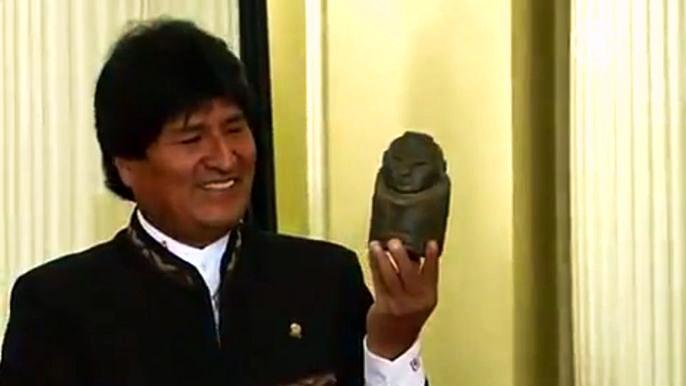 В культуре индейцев это божество символизировало изобилие и плодородие. Скриншот видео.