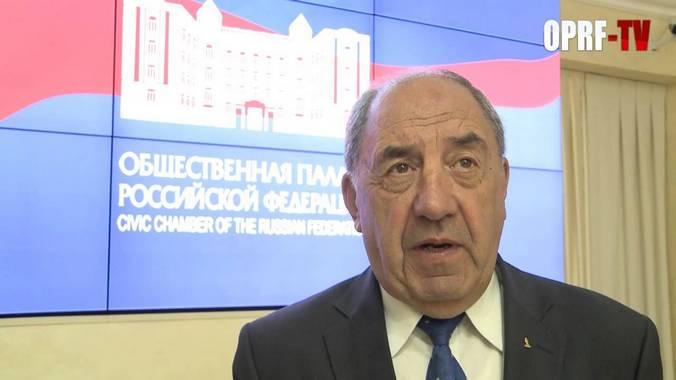 Глава комиссии Общественной палаты по ЖКХ Игорь Шпектор. Фото: youtube.com