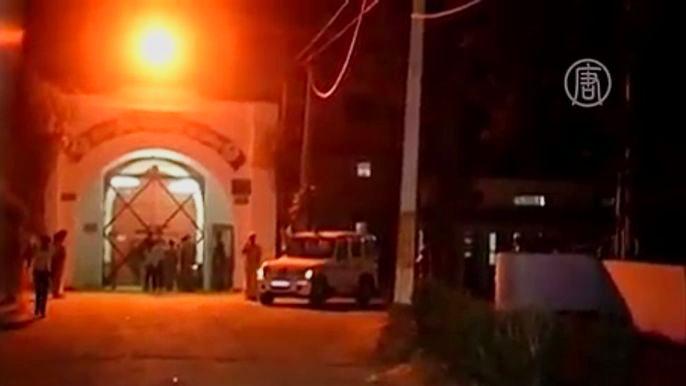 Инцидент произошёл вечером во вторник и заставил местные власти начать немедленное расследование. Скриншот видео.