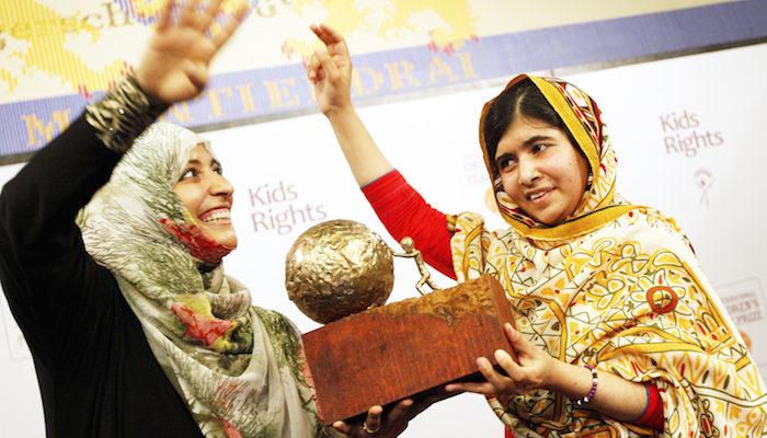 Малала ― самая молодая обладательница Нобелевской премии мира