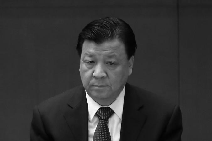 Лю Юньшань, глава Центрального отдела пропаганды КПК, на закрытии съезда КПК 14 ноября 2012 года в Пекине. После прихода к власти Си Цзиньпина, Лю использовал своё влияние, чтобы создавать ему проблемы. Фото: Feng Li/Getty Images