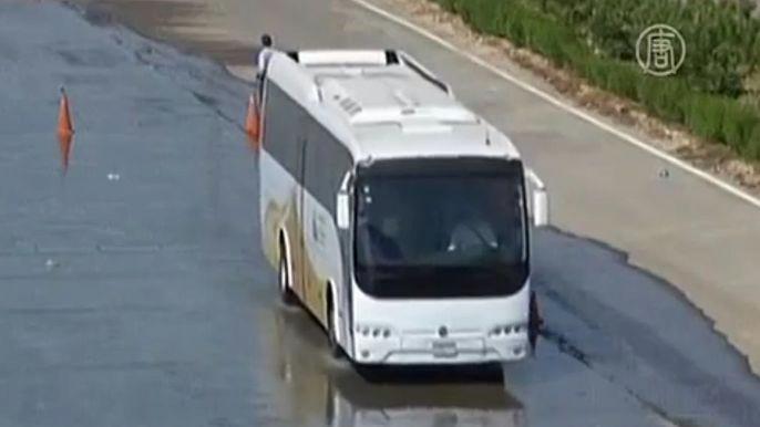 Водители теперь обязаны пройти курсы повышения квалификации. Скриншот видео.