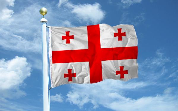 Флаг Грузии. Иллюстрация: Великая Эпоха