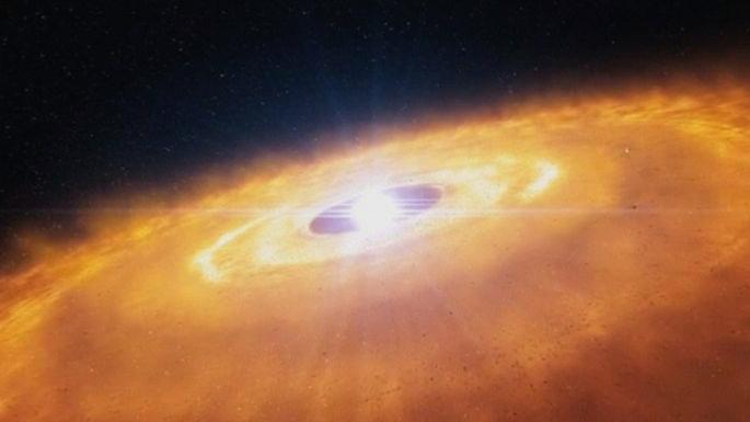 Телескоп в чилийской пустыне снял зарождение планет