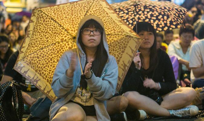 Стена из яиц олицетворяет силу единства протестующих Гонконга