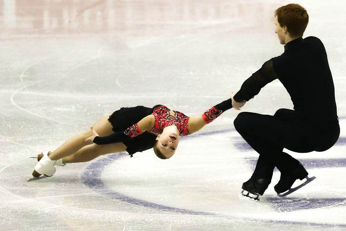 Владимир Морозов и Евгения Тарасова. Фото: Chris McGrath / Getty Images
