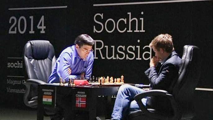 Ананду удалось спасти шанс на чемпионство в седьмой партии за мировую шахматную корону (видео)