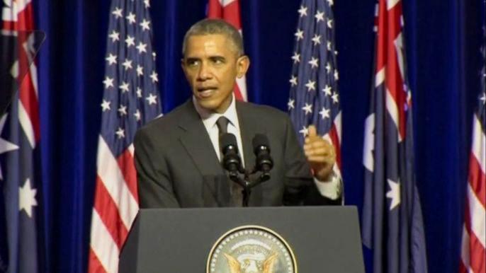 Барак Обама. Скриншот видео.