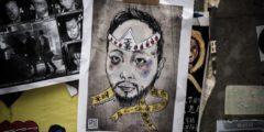 Семь гонконгских полицейских арестованы за избиение протестующего