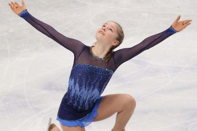 Российская фигуристка Юлия Липницкая. Фото: Atsushi Tomura/Getty Images