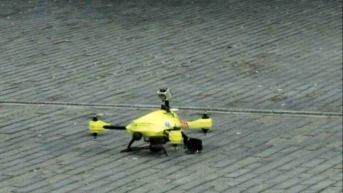 Это всего лишь прототип, но изобретатель надеется, что после испытаний он быстро запустит свою разработку в продажу. Скриншот видео.