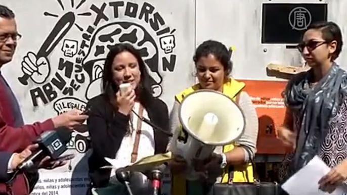 Акция была приурочена к 25-летию принятия Конвенции по правам детей.  Скриншот видео.