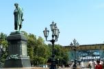 Москва.  Пушкинская площадь.  Фото: Rosa Dik 009 -- on & off/flickr.com