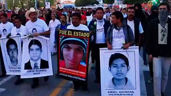 Такие протесты проходят по всей стране. Скриншот видео.